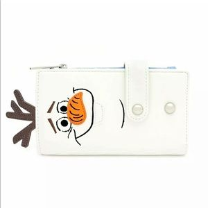 Loungefly Olaf wallet new work tags